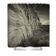 Ancient Walls Shower Curtain