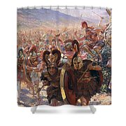 Ancient Warriors Shower Curtain