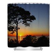 Anclote Gulf Sunset Shower Curtain