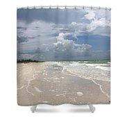 Anclote Key Beach Shower Curtain