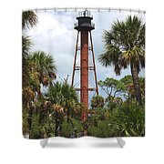 Anclote Key Lighthouse Shower Curtain