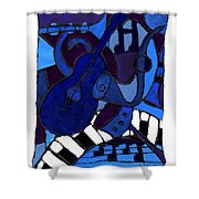 and All that Jazz one Shower Curtain