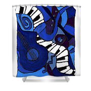and All That Jazz two Shower Curtain