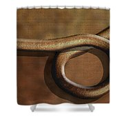 And Back Again Shower Curtain