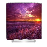 And I Dreamt Of Waking Shower Curtain