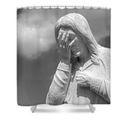 And Jesus Wept II Shower Curtain