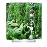 And Sculpture Garden Shower Curtain