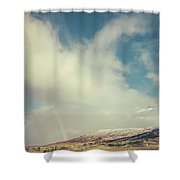 And The Future Is Certain, Give Us Time To Work It Out. Shower Curtain