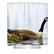 And The Littlest One Shall Lead The Way Shower Curtain