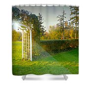 And The Trellis Shower Curtain