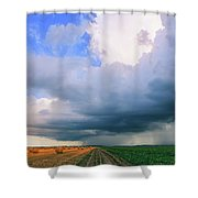 And Then The Sky Opened Shower Curtain