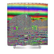 And There Were Rainbows Shower Curtain