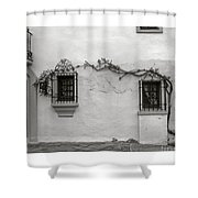 Andalucia Wall Shower Curtain