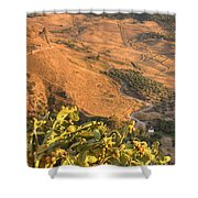 Andalucian Golden Valley Shower Curtain