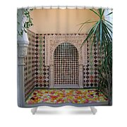 Andalus Mansion In Cordoba Shower Curtain