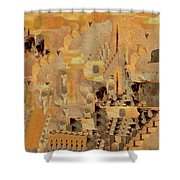 Andalusian Adventure Shower Curtain