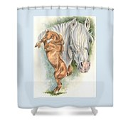 Andalusian Shower Curtain by Barbara Keith