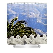 Andalusian View Shower Curtain