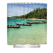 Andaman Coast Shower Curtain