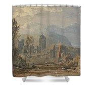 Andernach  Shower Curtain