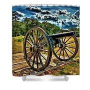Andersonville Cannon Shower Curtain