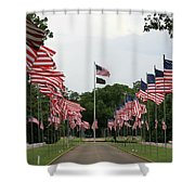 Andersonville National Cemetery Shower Curtain