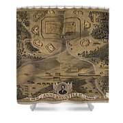Andersonville Prison Shower Curtain