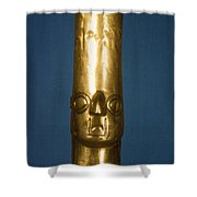 Andes: Gold Effigy, 1400 Shower Curtain