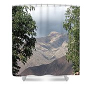 Andes Shower Curtain