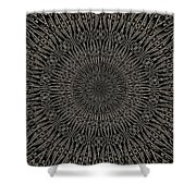 Andoluvium Metal Mandala Shower Curtain