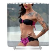 Andrea 020 Shower Curtain
