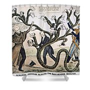 Andrew Jackson (1828) Shower Curtain