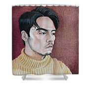 Andrew Portrait Shower Curtain