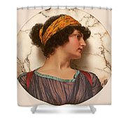 Androclea Shower Curtain