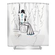 Androdameia Shower Curtain