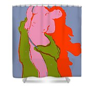 Andromeda - A Victorian Obsession Shower Curtain
