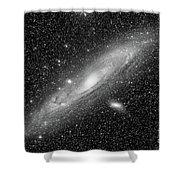 Andromeda Galaxy Shower Curtain