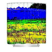 Andys Farm Shower Curtain