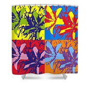 Andy's Lillies Shower Curtain