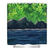 Anecdotal Experiences Shower Curtain