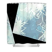 Anemone Angles Shower Curtain