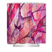Aneurysm Shower Curtain
