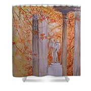 Ange  Petit Trianon Versailles Shower Curtain