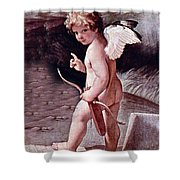 Angel - The Angel Of Love Shower Curtain
