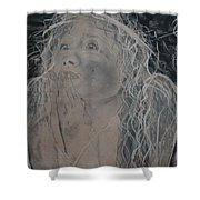 Angel 1 Shower Curtain