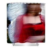 Angel  1 Shower Curtain