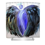 Angel 107 Shower Curtain