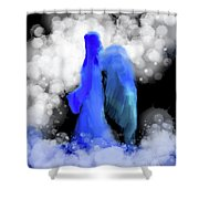 Angel #621 Shower Curtain