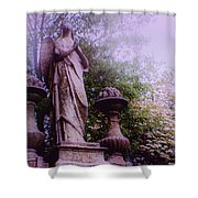 Angel At Old Swedes Shower Curtain