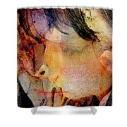 Angel Blessings Shower Curtain